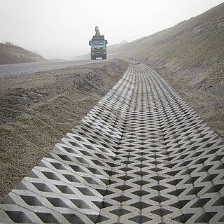 Entwässerung Autobahn