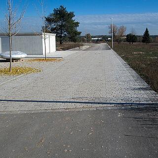 Straße Baugebiet