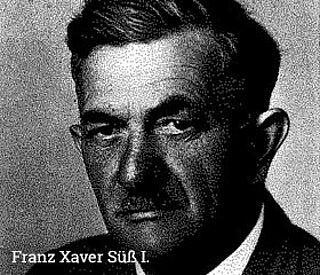 Franz Süß, Pflasterer und Steinhauer
