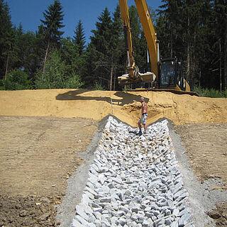 Wasserbau Granit
