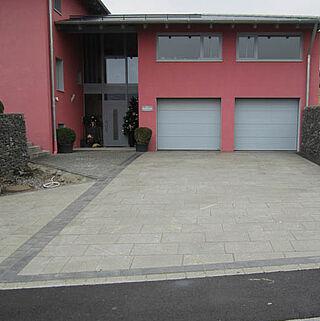 Beton- und Granitpflaster