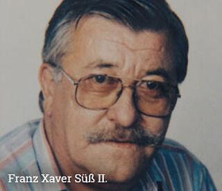 Franz Süß, Pflasterei Süß