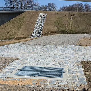 Entwässerung Straßenbau